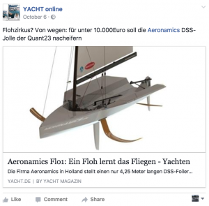 YACHT Online Facebook