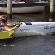 HAN Solarboat in de sprint